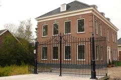 107 - Lips Poorten - Rotterdam Kralingen - gietijzeren palen - geklonken poort #7